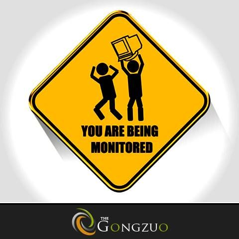 #SaturdayPrank Attention! You are being monitored