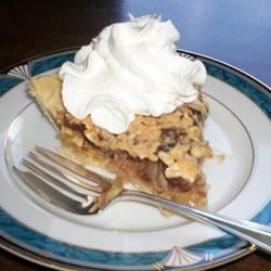 Meme's Japanese Raisin Pie (here at Allrecipes, someone calls it Exquisite Pie.. I can't argue with that name)