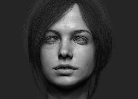 Render passes from ZBrush, composed in Photoshop.