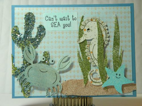 Can't wait to sea you  Kimberly Morrow - Under the sea  http://thecuttingcafe.typepad.com/the_cutting_cafe/2012/05/under-the-sea-printable-stamp-set.html