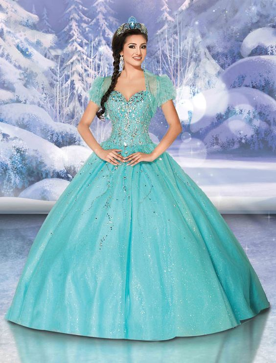 Disney Royal Ball | Quinceanera Dresses | Quinceanera Dresses by Disney Royal Ball/Elsa