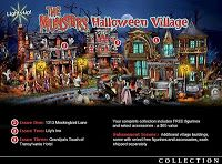 THE MUNSTERS HALLOWEEN VILLAGE