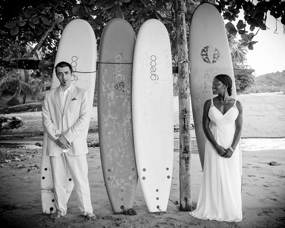 Wedding, surf & sand in Costa Rica