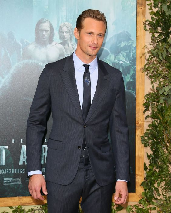 Alexander Skarsgard Sadly Did Not Wear a Loin Cloth to the Red Carpet Premiere of Tarzan