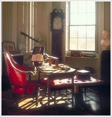 With its telescope and microscope, armillary sphere and orrery, Jefferson's cabinet gave him instruments for studying every aspect of the created world. Thomas Jefferson's Monticello