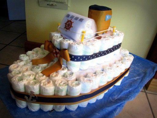 Arreglos Para Baby Shower De Nino Y Nina Ideas Increibles Centros De Mesa Regalos Con Panales Panales Bebe Panales De Baby Shower