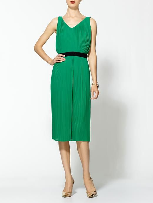 Piperlime | Pleated Grecian Dress