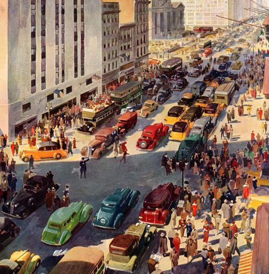 Fifth Avenue, 1936.