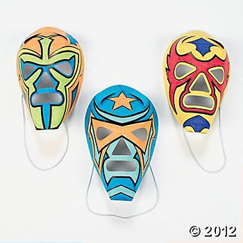 Color Your Own Masks - party favors