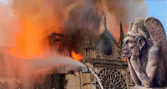 Lo que pierde la humanidad con el incendio de la colosal ...