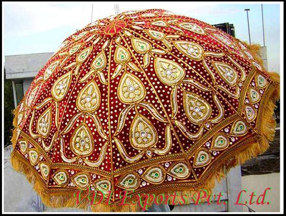 indian wedding umbrellas