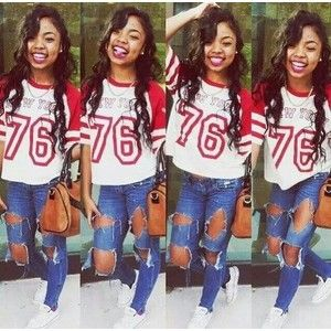 girl urban thug girls with swag �� dope swag pinterest