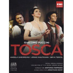 Puccini: Tosca Royal Opera House, 2011 - Gheorghiu, Kaufmann, Terfel DVD 2012: Amazon.co.uk: Angela Gheorghiu, Jonas Kaufmann, Bryn Terfel, Antonio Pappano: Film & TV