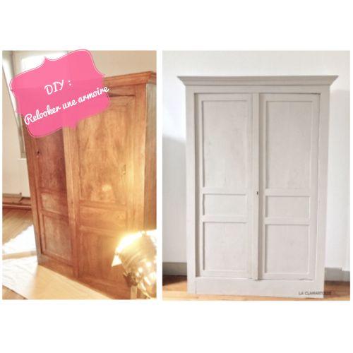 Réalisé par Charlène Coach Déco (87) {DECO} Meubles  / Furniture - comment peindre un vieux meuble