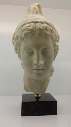 Head of the statue of Paris from Crete