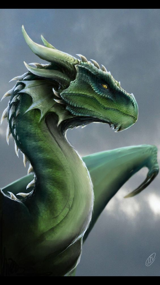 Emerald Green Dragon