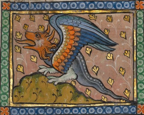 A Dragon, Franco-Flemish, about 1270: