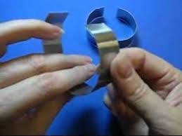 Image result for how to make a polymer clay bracelet on a metal form
