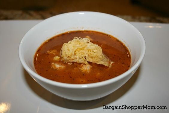 Easy Chicken Tortilla Soup Recipe! Healthy Comfort Food for the New School Year