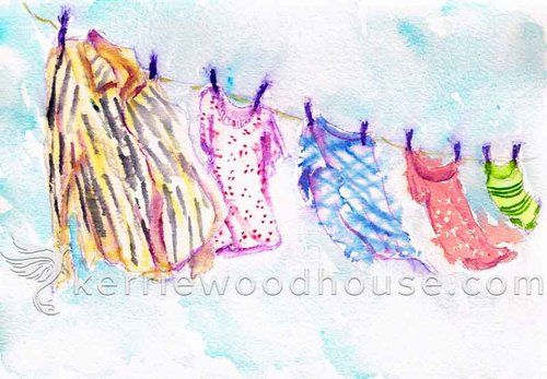 World Watercolour Month And My 50th Monthly Painting Series