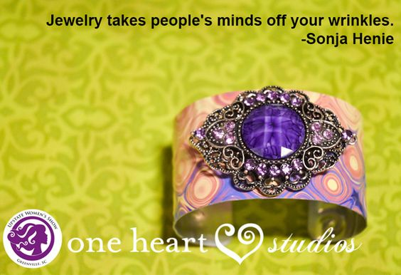 This is why we love jewelry!