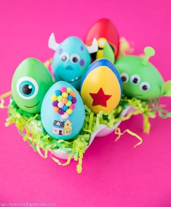 13 huevos de Pascua - DIY Easter eggs