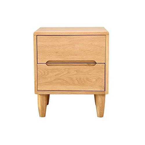 Wang Chun Wh Simple Green Round Wood Legs Small Bedroom Nightstand Bedside Cabinet Storage Storage Double Extr Bedroom Night Stands Storage Cabinets Wood Legs