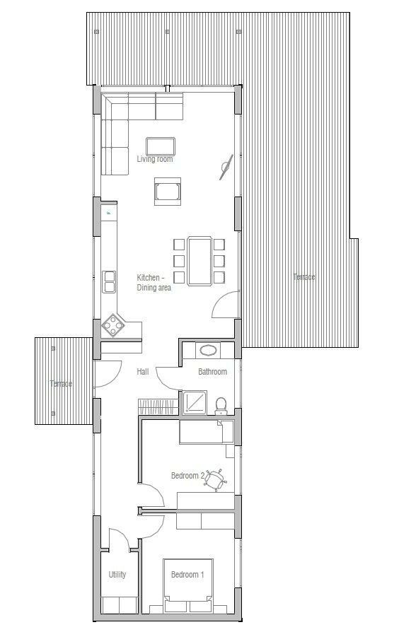 Pin By Bjarne Christiansen On Container House Floorplans Narrow Lot House Plans Narrow House Plans House Plans