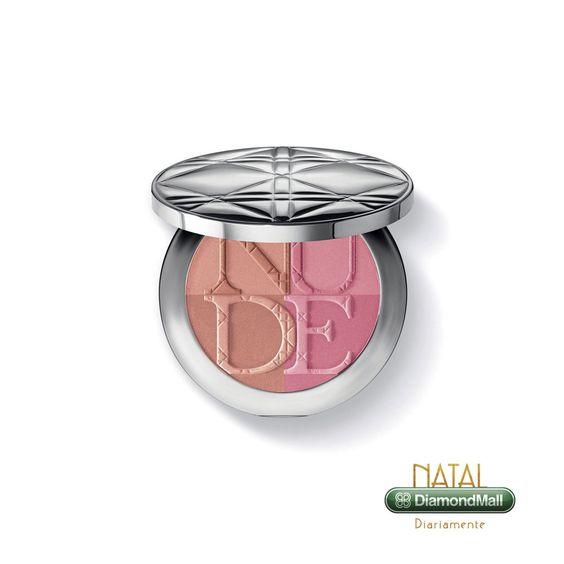 Blush e Pó Bronzeador Diorskin Nude -Tan Paradise Duo Iridescent -The Beauty Box