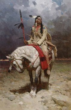 Howard Terpning, Great Western Artist. kK