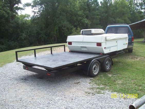 Pop up trailer up trailer and utility trailer on pinterest