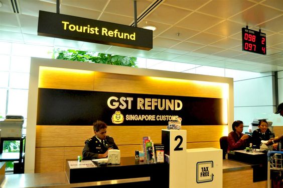 Quầy hoàn thuế dành cho du khách nước ngoài