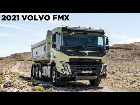 2021 Volvo Fmx Revealed Interior Exterior Volvo Volvo Trucks New Trucks