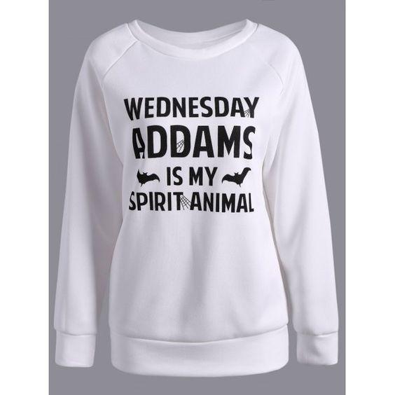 22.3$  Buy now - http://diryb.justgood.pw/go.php?t=199628002 - Crew Collar Letter Pattern Sweatshirt