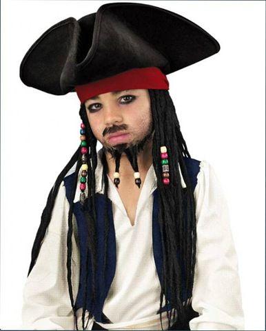 disfraz de jack sparrow piratas del caribe infantil