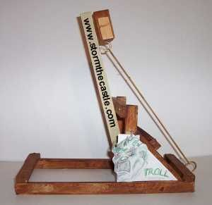 The Table Top Troll Catapult