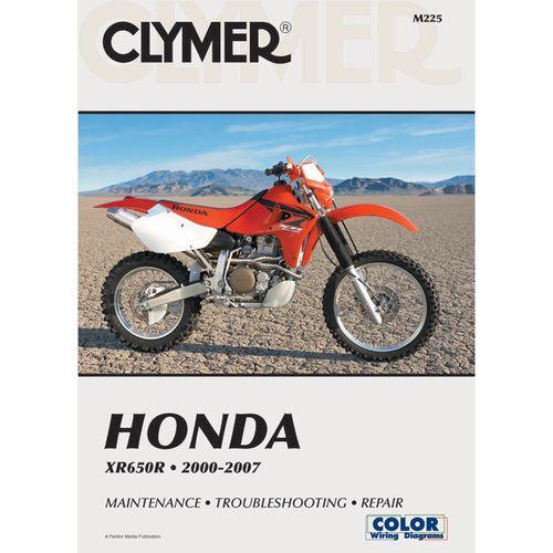 Clymer Honda Xr650r 2000 2007 Clymer Honda Repair Manuals