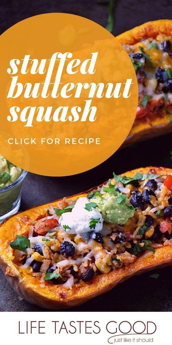 Stuffed Butternut Squash Recipe