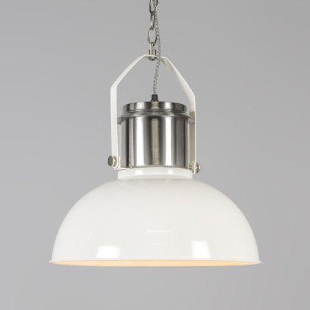 Lampa wisząca Industrial 37 biała