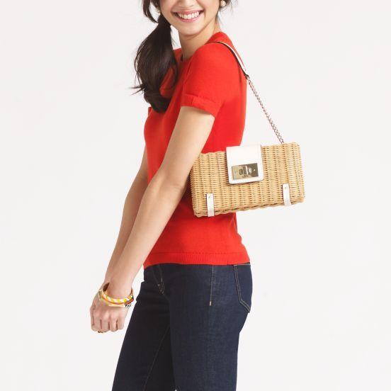 Delavan Terrace Delora straw bag from Kate Spade