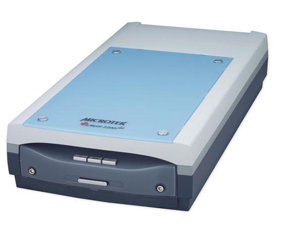 Microtek Medi 2200 Plus (LED) Hi-Speed Flatbed Dental Digitizer Scanner (FDA Approved)