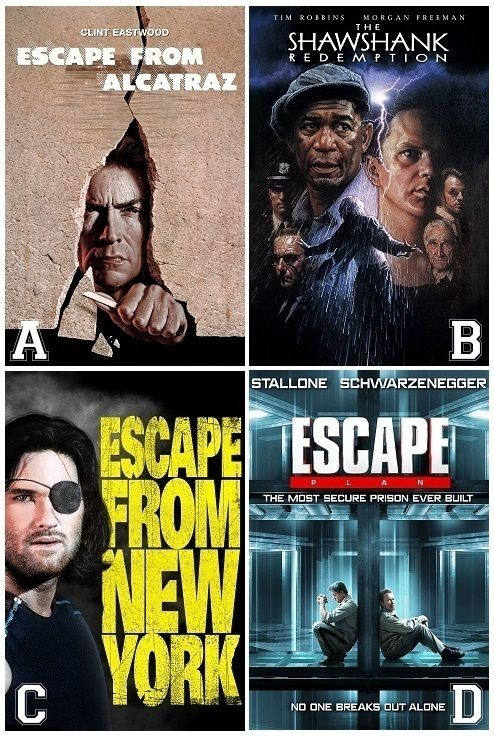 Best Prison Escape Movie Who You Wit Escape Movie Prison