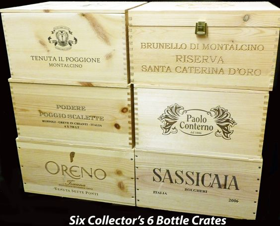 where to buy Wine Crates and Wine Boxes for DIYs and storage