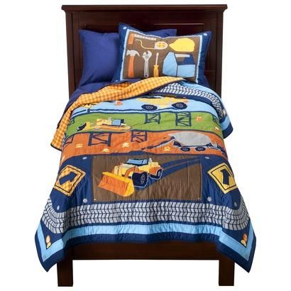homemade quilts for boys boys construction vehicles twin quilt sham bedding set comforter build bedding sets twin kids