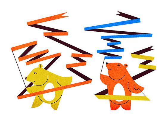 Rhythmic Ribbons- Parko Polo by edward_mcgowan, via Flickr
