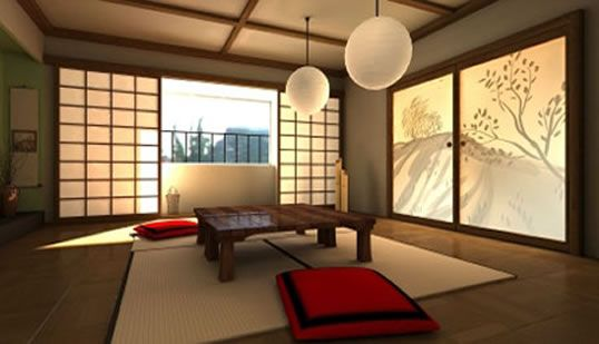 calm and soothing room