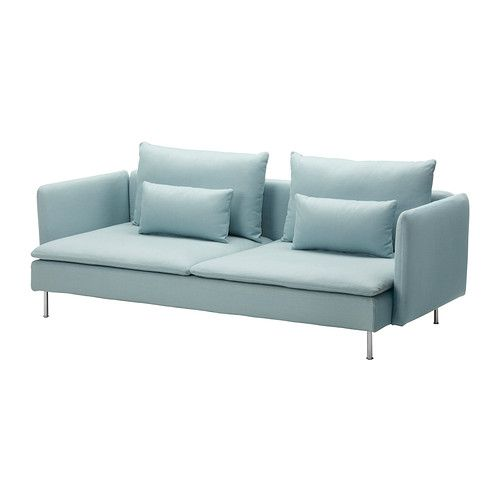 Ikea S Derhamn Convertible Isefall Turquoise Clair