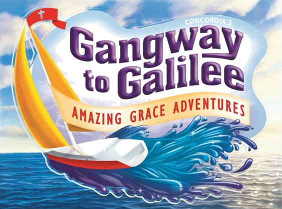 gangway to galilee coloring pages - photo#46