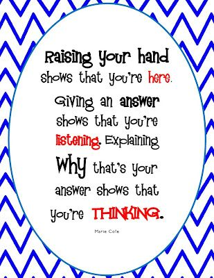 The Hands-On Teacher: A New Classroom Sign (FREEBIE) |Pinned from PinTo for iPad|