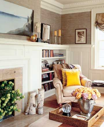 Fantastic Fireplace Mantle And Flanking Bookcase  A Concord Carpenter